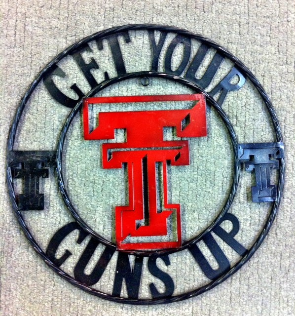 Quot Get Your Guns Up Quot Large Metal Sign Proud To Be Texan Pinterest Football The O Jays And Caves