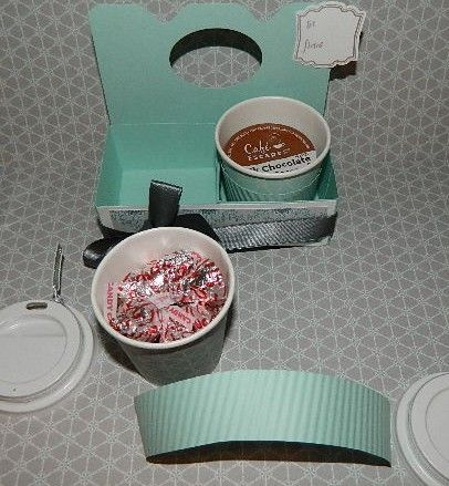 Mini Coffee Cup Gifts Ideas And Template Pinterest Cups