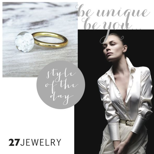 White, pure idea | 27jewelry