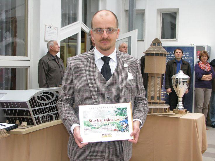 Na slavnostním ceremoniálu Stavba roku 2015 Kolínska...