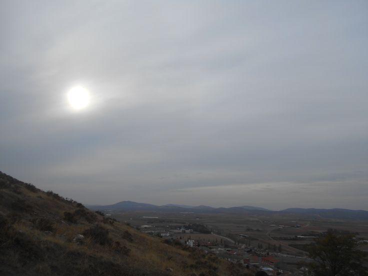 Panorámica desde el Cerro Calderico.