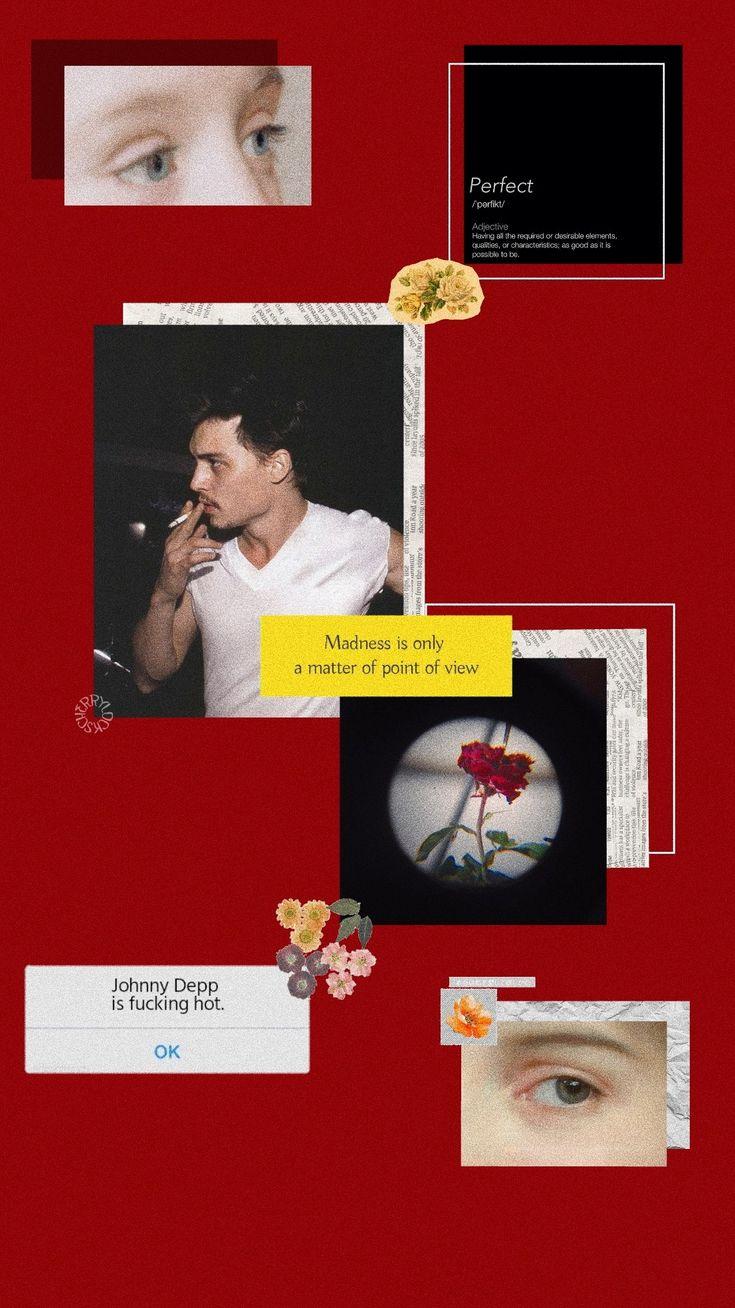 Lockscreen Johnny Depp Johnny Depp Wallpaper Johnny Depp Aesthetic Iphone Wallpaper