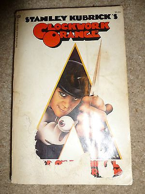 Clockwork Orange Book maybe Kubricks own pre-published version with notes RARE $1500