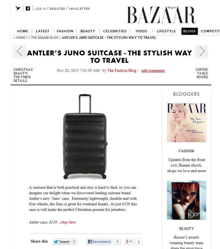 Harper's Bazaar - Juno
