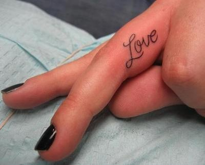 I like this..: Tattoo Ideas, Fingers Tattoo, Rings Fingers, Finger Tattoos, Tattoo'S, Love Tattoos, A Tattoo, Words Tattoo, Ink