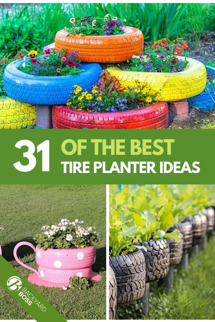31 Of The Best Tire Planter Ideas Tire Planters Old Tire