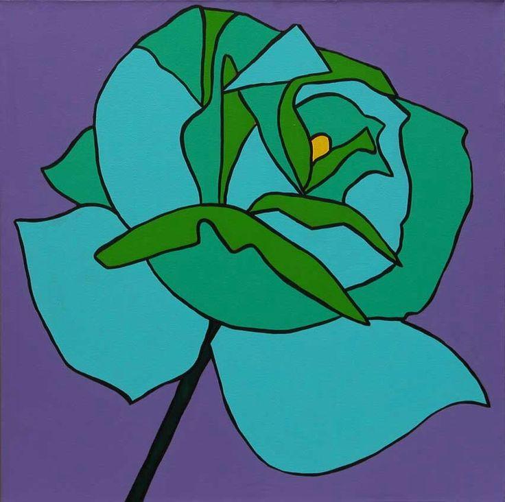 Rosa Azul Turquesa