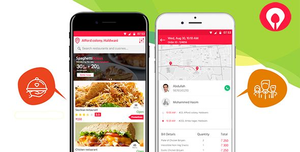 On Demand Food Delivery Android and iOS Apps Nulled | Nulled