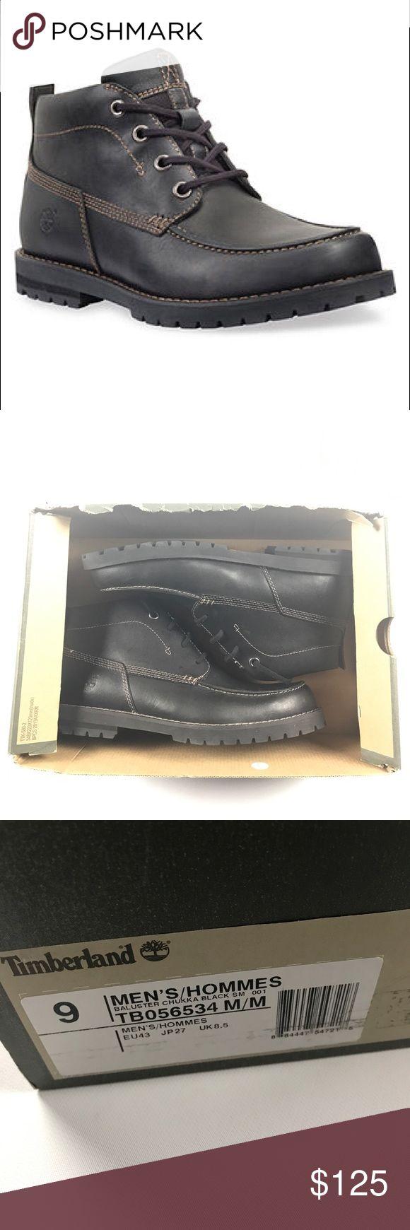 New 9 Timberland Baluster Chukka Boots Black New Timberland Shoes Chukka Boots