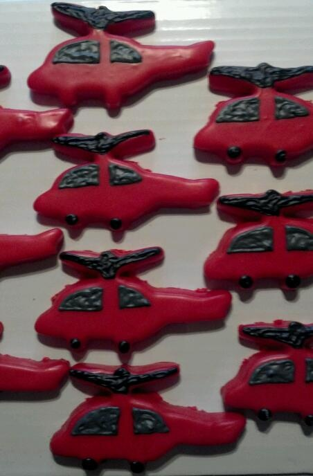 Helicopter Cookies