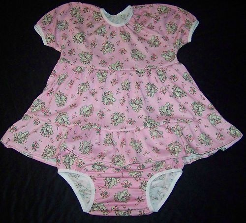 "Adult Baby Teddy Baby Doll Dress Set 35 36"" MSL Big Tots 