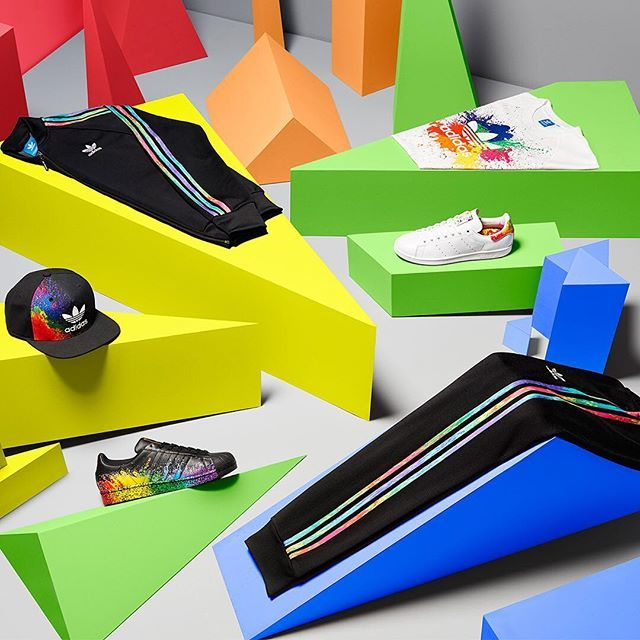 We've partnered with @stonewalluk for this year's Pride Pack. Proceeds from all sales will go towards creating a world where every single person can be accepted without exception. Available at adidas.com/originals now.