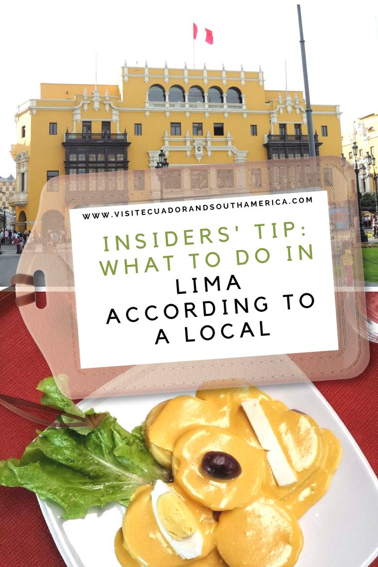 #Lima is the capital and the largest city of #Peru, this city has a lot to offer to visitors due to its heritage and history, as well as the offer of the most extraordinary gastronomy around the world. Here are some tips from a local´s point of view.