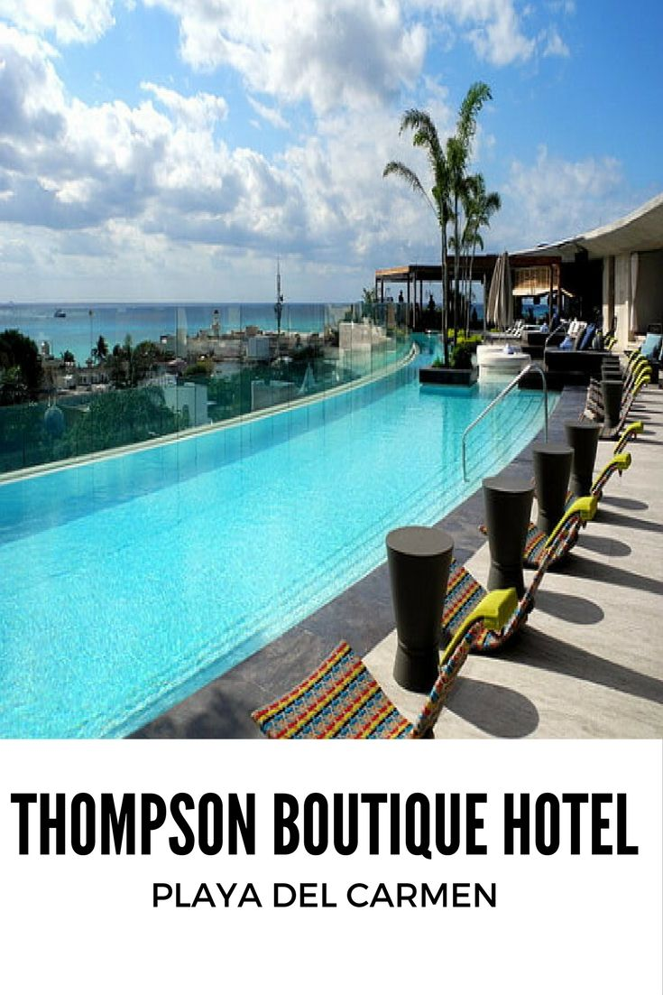 133 best images about thompson playa del carmen on for Best boutique hotels playa del carmen