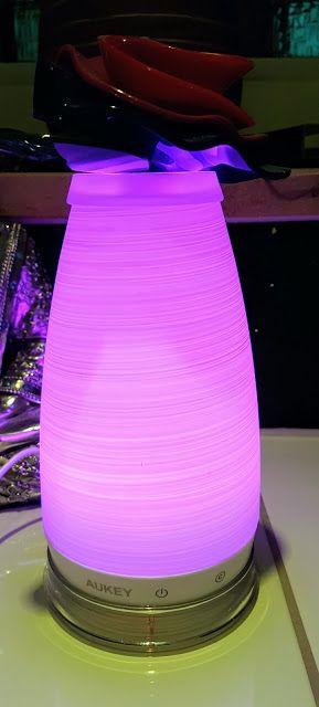 Mihaela & Dreamteam: Aukey Lampen mit Farbwechsel im Test - entspannen und eine gute Einschlafhilfe!  http://www.mihaela-testfamily.de  #Aukey #LED #Lifestyle #interiordesign #livingroom #wellness #home #lamps #tech