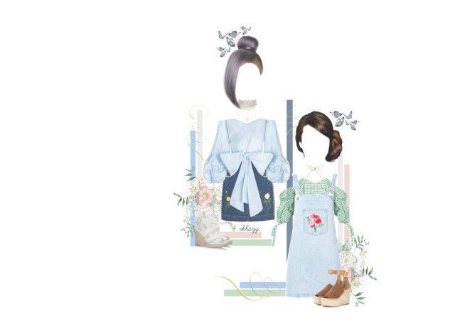 """spring forward, fall back."" by ekhayz ❤ liked on Polyvore featuring Caroline Constas, Au Jour Le Jour, Chloé, STELLA McCARTNEY, Marina J., Charlotte Russe, ootd, StellaMcCartney, aujourlejour and carolineconstas"