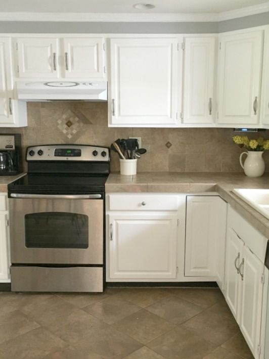 What Is The Easiest Way To Refinish Kitchen Cabinets