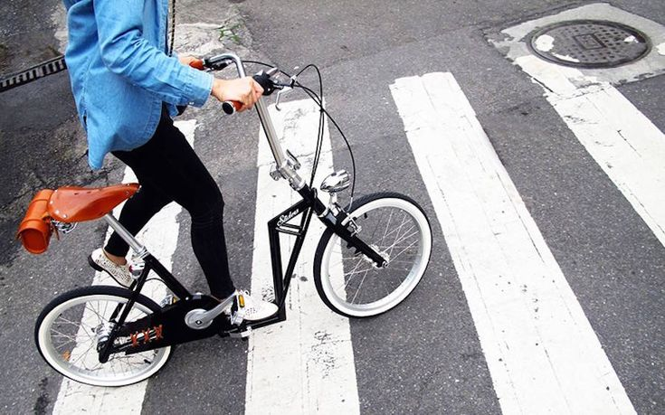 Foldable Sliders Scooter Bike