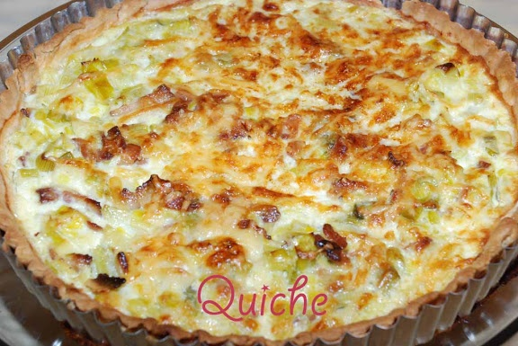 Whisk: a food blog: Quiche Lorraine (Gruyère cheese and bacon tart from East of France - Lorraine)