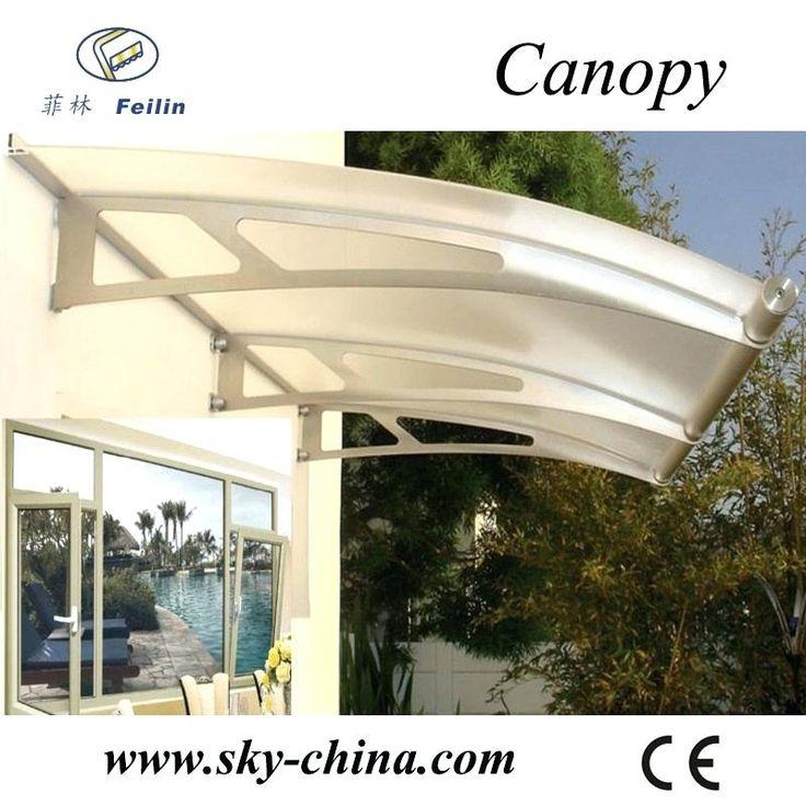 driveway canopy aluminum frame snow driveway gate canopy