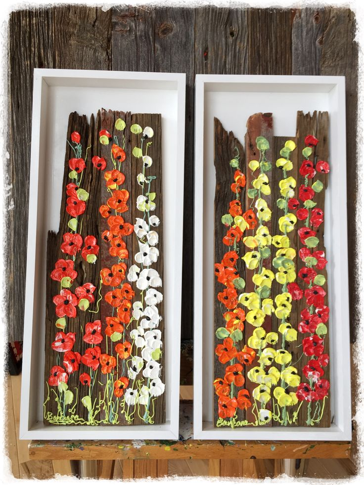 62 best ART-BARN WOOD FLORALS images on Pinterest | Distress wood ...