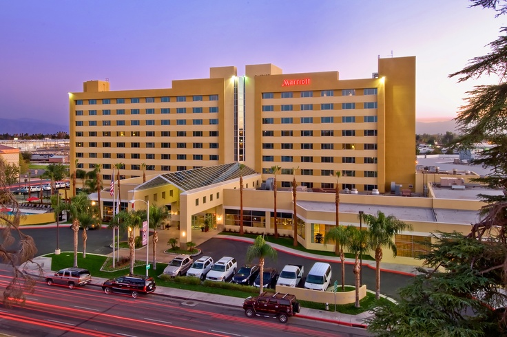 The Bakersfield Marriott at the Convention Center.