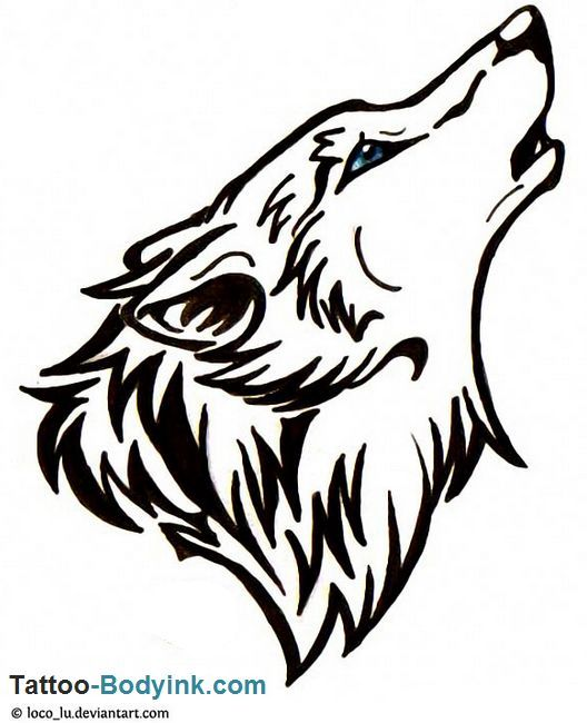 ... Tattoo Design auf Pinterest | Wolf Tattoos Tribal Wolf Tattoos und
