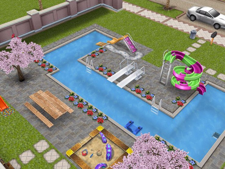 43 best images about sims on pinterest 2nd floor house for Pool designs sims 4