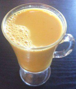 Tumeric Chai Tea with Pumpkin Pie Spice