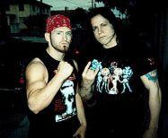 Matt Cross and Glenn Danzig