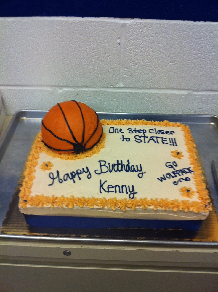 Birthday Cake Dunk