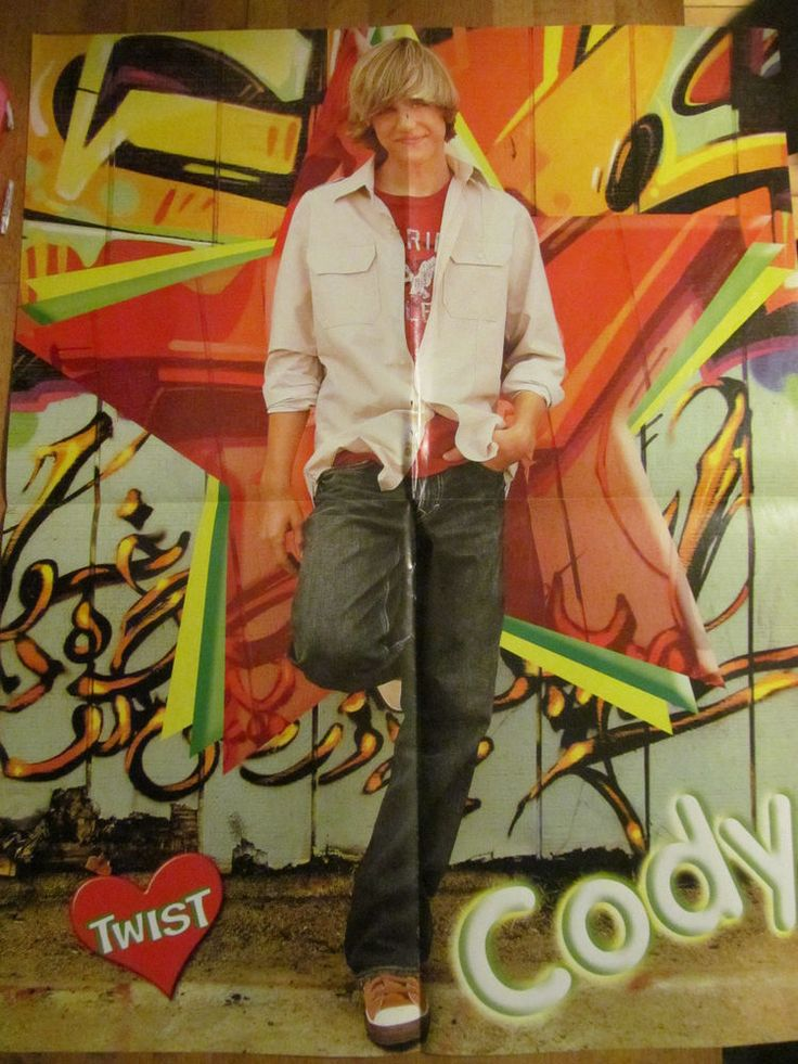 Cody Linley, Mitchel Musso, Double Four Page Foldout Poster