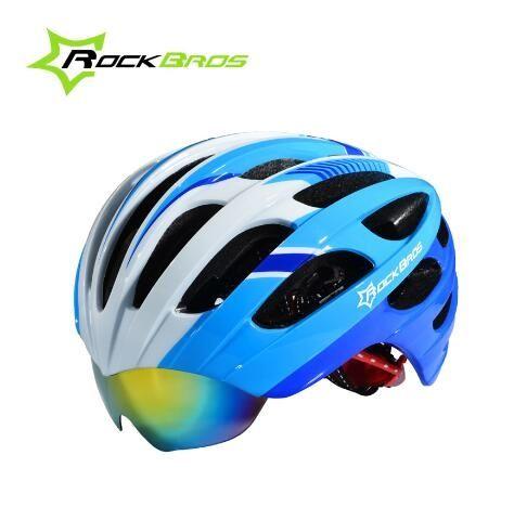39.63$  Buy now - http://alirah.shopchina.info/go.php?t=32650257996 - RockBros Cycling Helmets Cycling Helmet Casco Ciclismo Casco MTB Bike Helmet & Integrally molded glasses Special helmet 39.63$ #SHOPPING