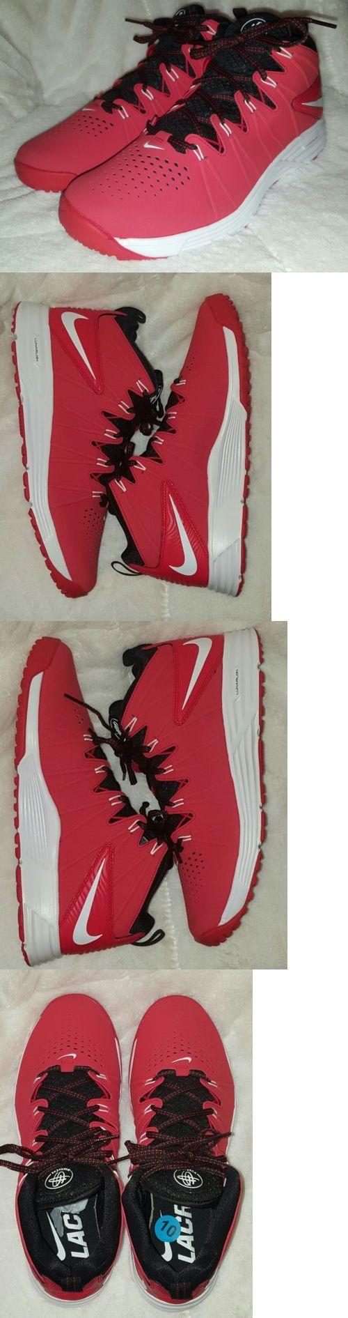 Footwear 159154: Nike Huarache Turf Shoes Mens Size 10 Red Black White Lunarlon -> BUY IT NOW ONLY: $58.98 on eBay!