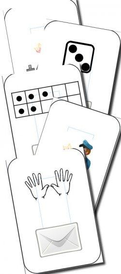Facto - jeu pour associer les nombres et leur schèmes