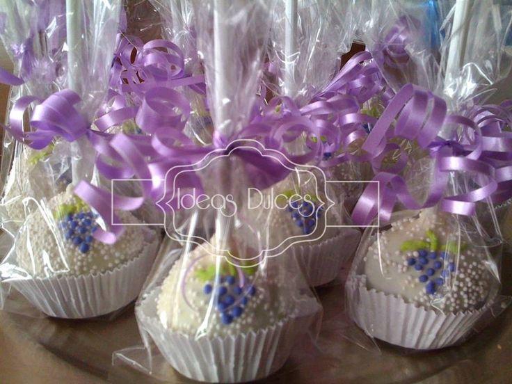 Cake Pops para Primera Comunión. Cake Pops para la fiesta de Circo de Jerónimo