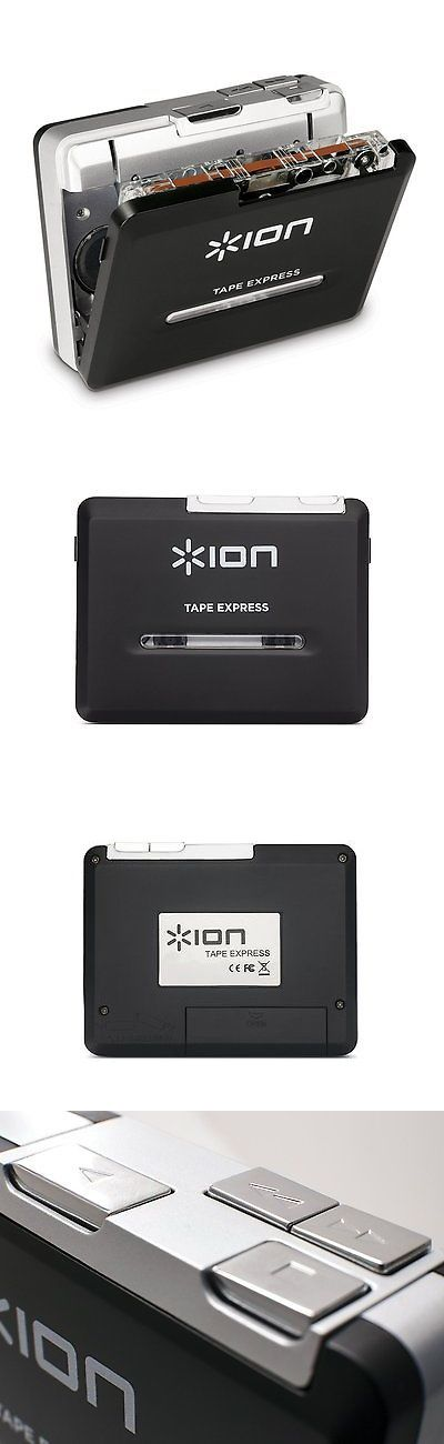 Personal Cassette Players: Ion Tape Express Portable Analog To Digital Cassette Converter With Headphones BUY IT NOW ONLY: $51.26