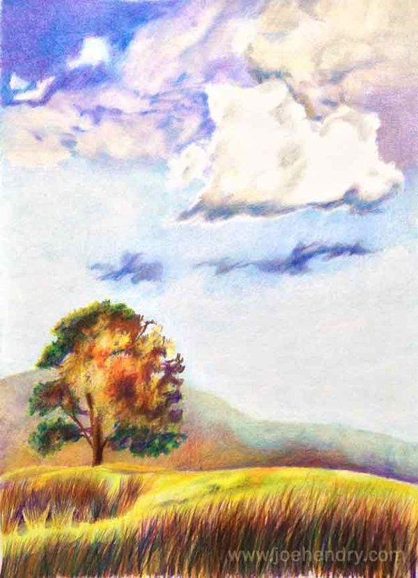 60 Easy And Simple Landscape Painting Ideas Digital Painting