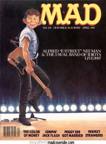 The Best Mad Magazine Covers | Bruce springsteen, The o ...