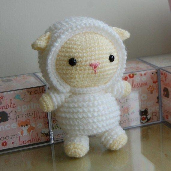 Little Lamb Gurumi Pattern