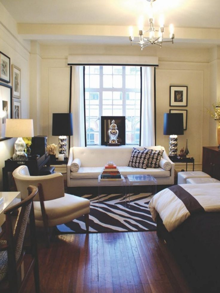 Maximize the space in your studio apartment with these simple design tips from the experts at HGTV.com.