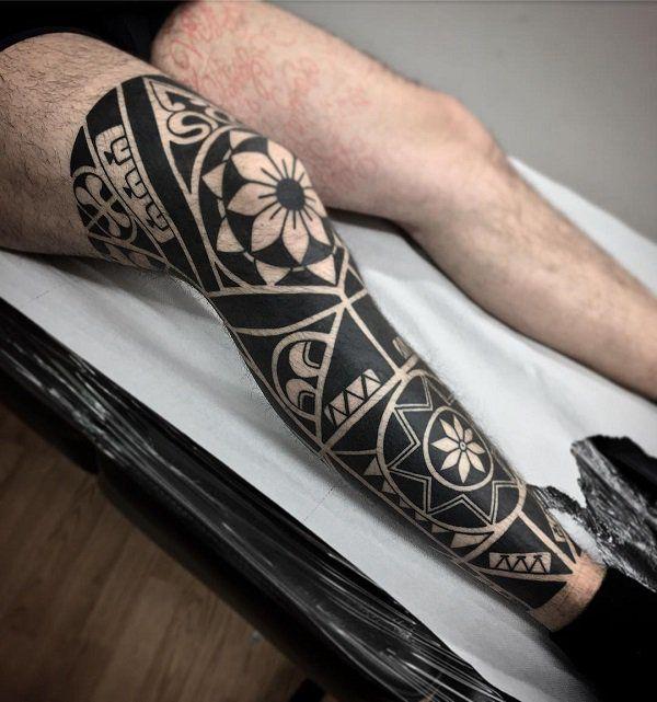 25+ Best Ideas About Men's Leg Tattoos On Pinterest