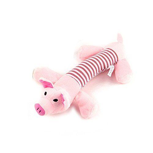 Ueetek Pet Puppy Dog Toys Chew Toys Squeaker Squeaky Plush Sound