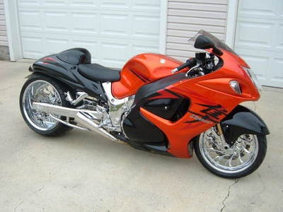 Wonderful Custom Stretched Suzuki Hayabusa