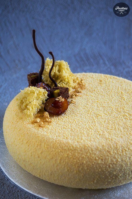 Tarta de Dulce de Leche, Chocolate y Cerezas