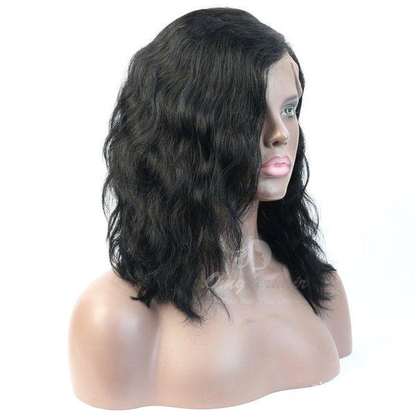 150% Density Kim Kardashian Bob Haircut Brazilian Virgin Hair Lace Front Wig [BOB07]