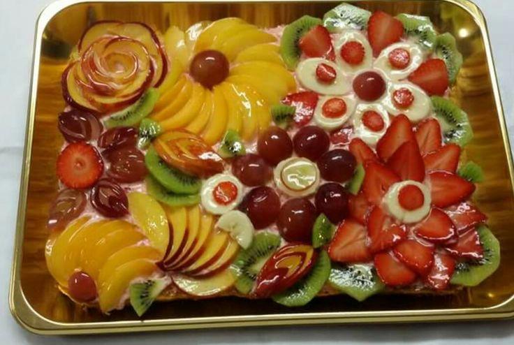 Decorazione crostata alla frutta (foto presa dal web)