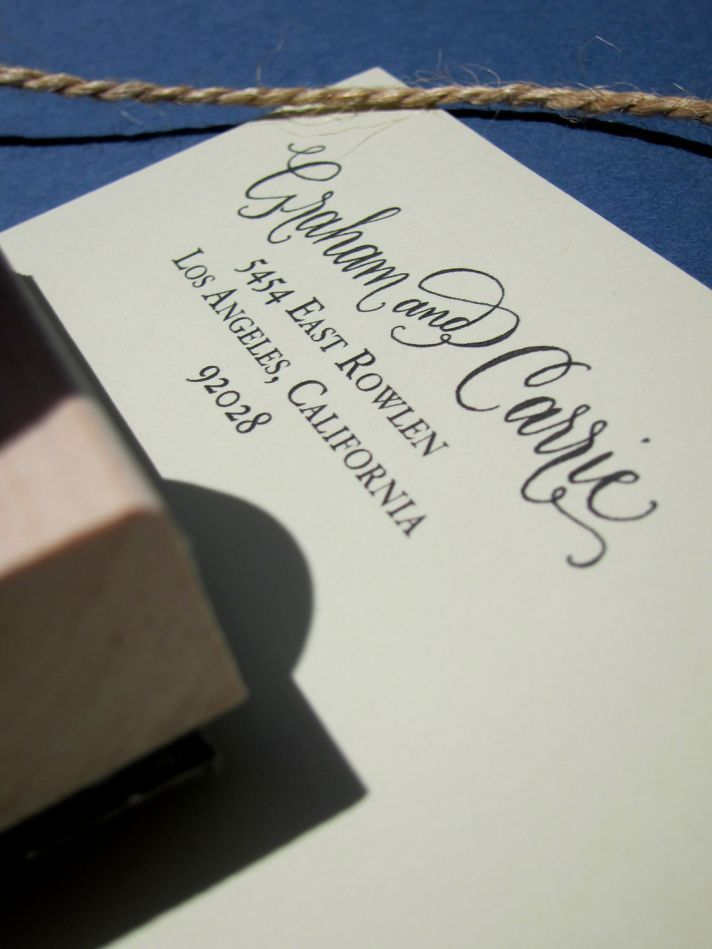 5 Easy Ways To Personalize The Wedding Diy Calligraphy And Craft