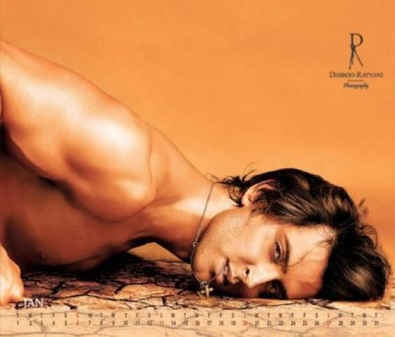 Bollywood hottie Hrithik Roshan. Yes, I would like a little heat in my curry ;)