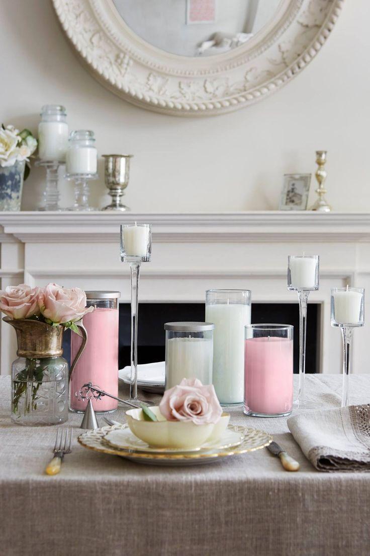 Pillars, jars, samplers och accessories